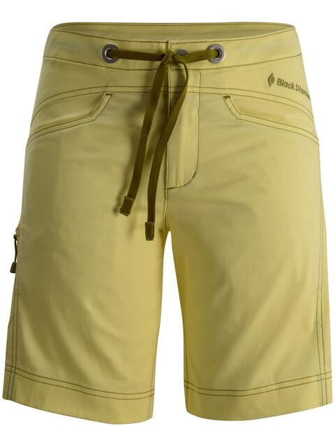 Black Diamond Credo - Pantalones cortos Mujer - amarillo